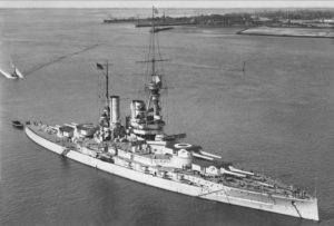 SMS Baden. The new battleship class was Germany's answer to Britain's Queen Elizabeth class.