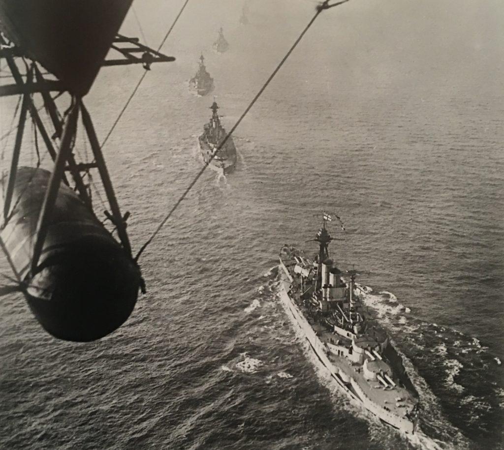 Overhead shot_airship