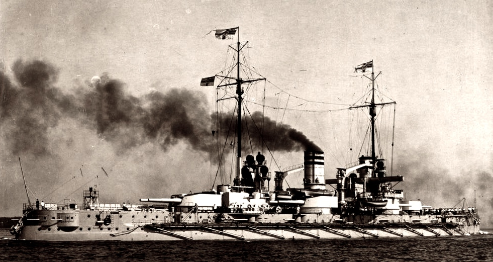 SMS Nassau (Courtesy The Franke Collection)