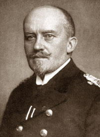 Rear Admiral Adolf von Trotha, German Admiralty